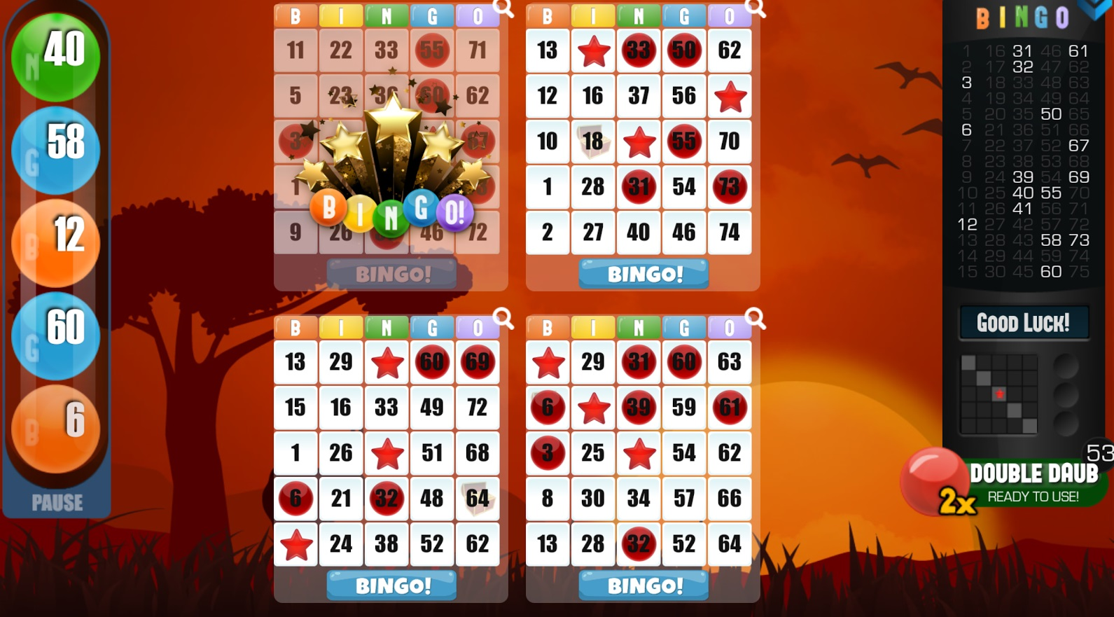 Music Ball Bingo - Play for Free Online with No Downloads