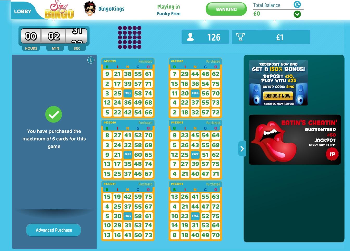Sing Bingo Review