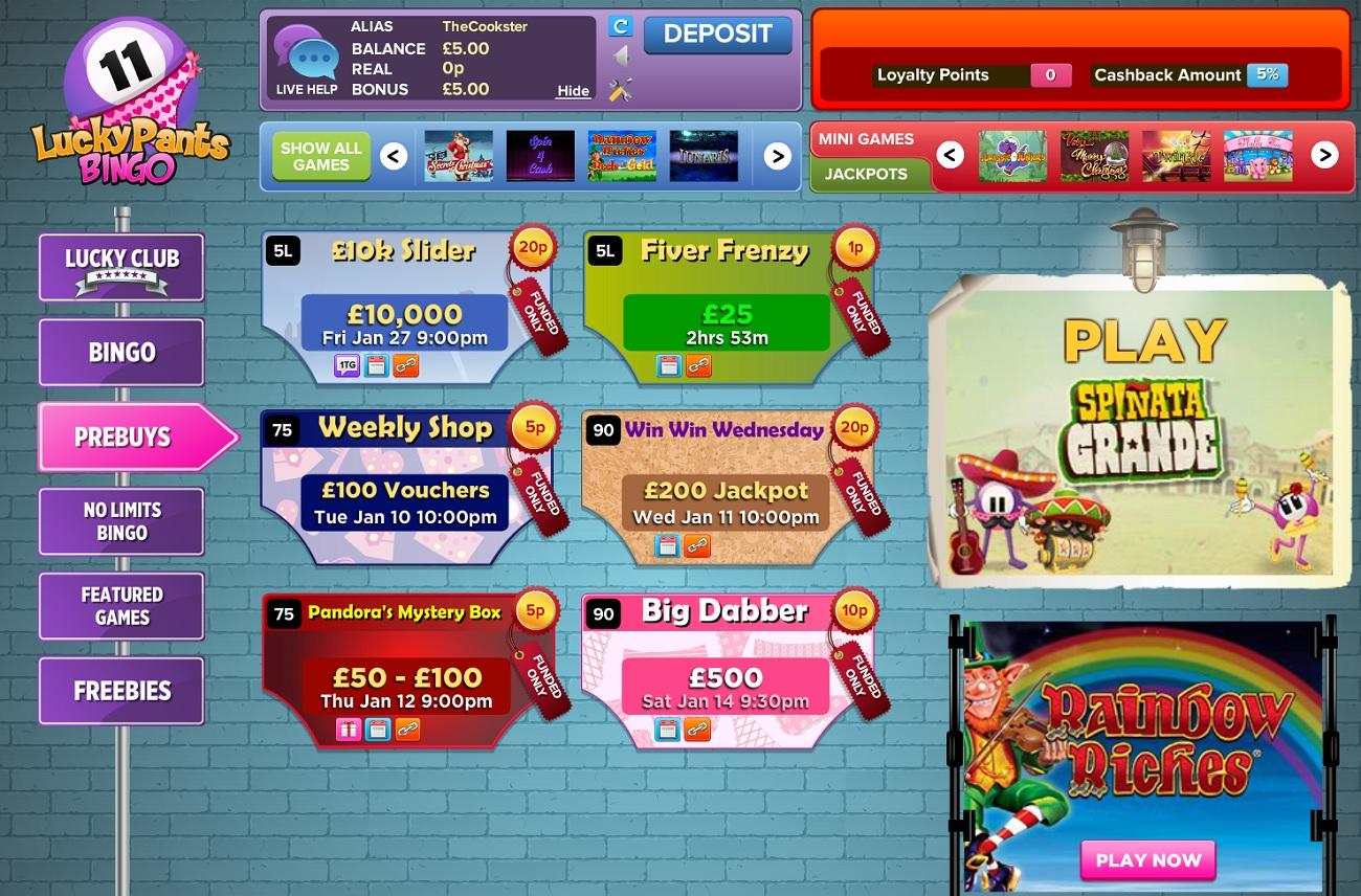 lucky-pants-bingo-lobby